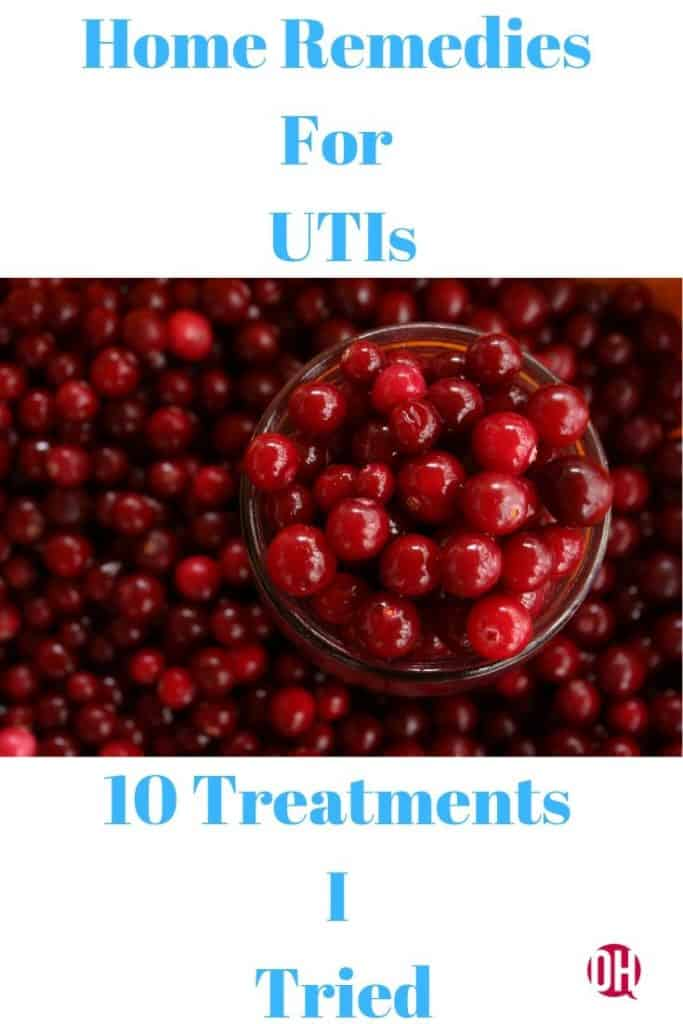cranberries graphic concerning UTIs