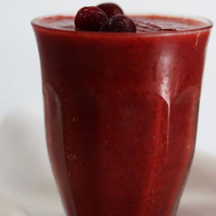 Easy Cranberry Smoothie